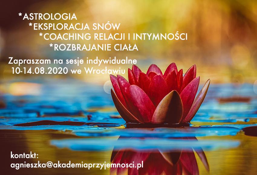 Indywidualne sesje emocjonalnego rozbrajania ciała we Wrocławiu z Agnieszką